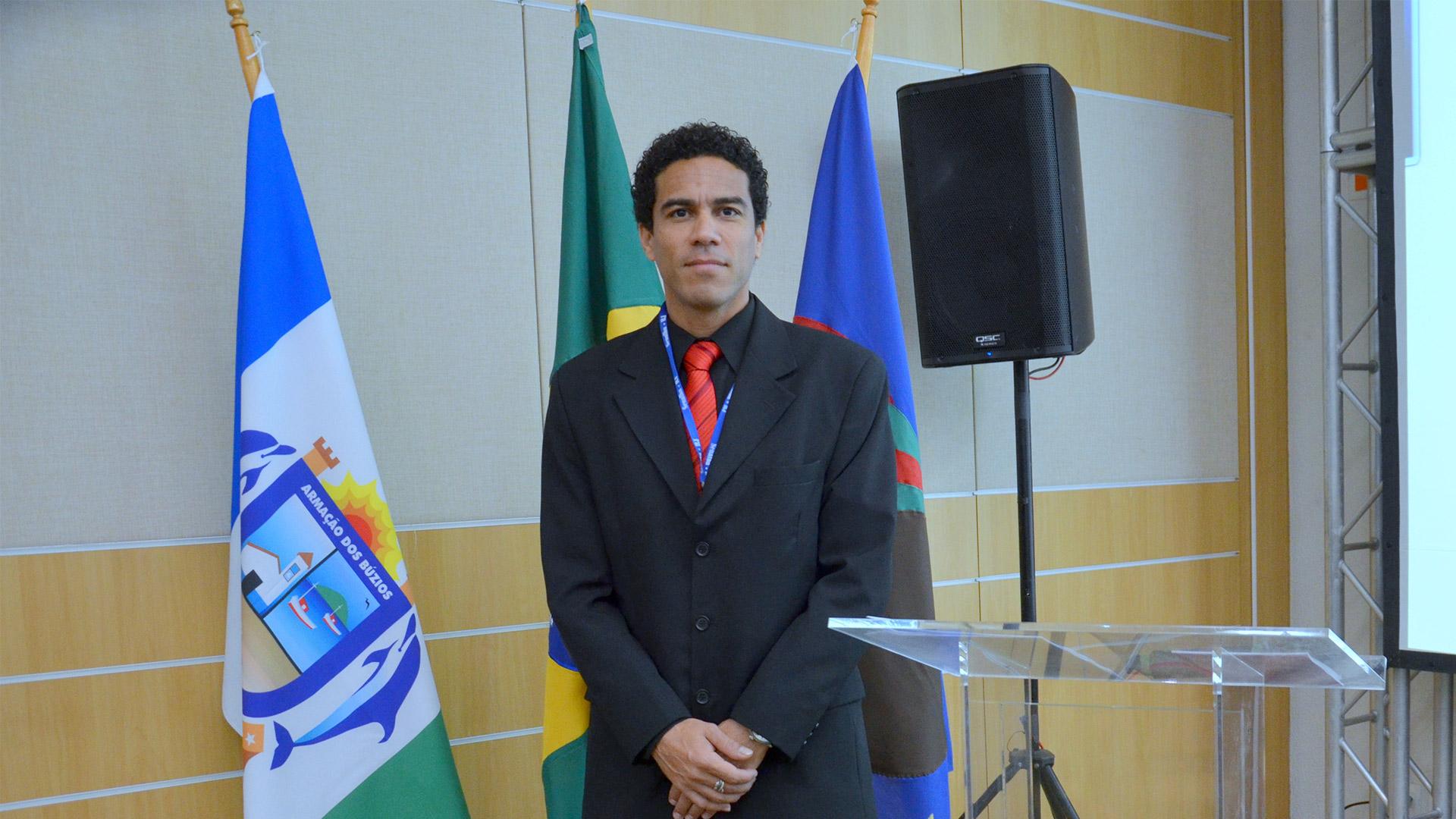 Mestre de Cerimônias Ed Rodrigues no Ferradura Resort