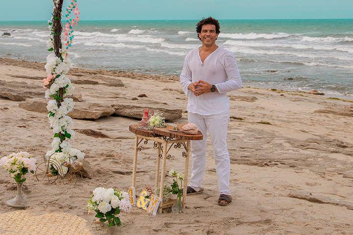 Celebrante de Casamentos na praia de Jericoacoara