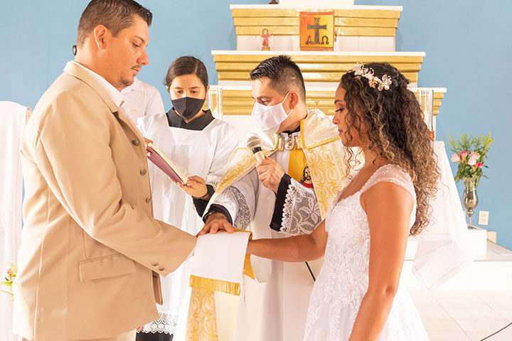 Casamento católico em Jericoacoara