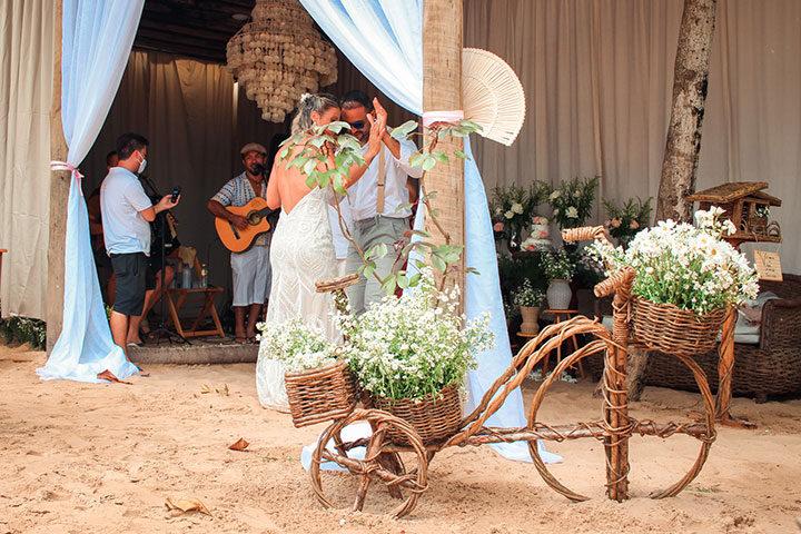 Festa de Casamento em restaurante em Jericoacoara