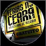 Letreiro grande em palco do Férias no Ceará